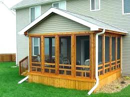 screened in deck. Screened In Deck Ideas Closed Porch Enclosed Screen Front