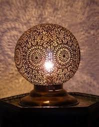 moroccan inspired lighting. moroccan decoration brass round table light with outstanding chiselled pattern inspired lighting