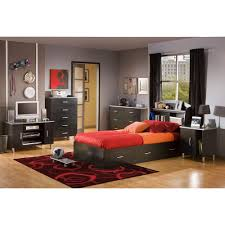 furniture incredible boys black bedroom. South Shore Cosmos Twin Storage Bed Furniture Incredible Boys Black Bedroom A