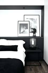 Bedroom Furniture Bed Sets For Men Masculine Minimalist Within ...