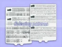 Janome 4120qdc Stitch Chart Janome 4120qdc