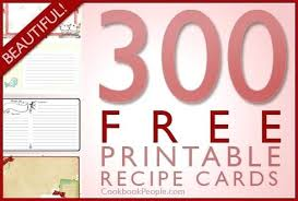 Templates For Recipe Cards Recipe Card Template Avery Templates