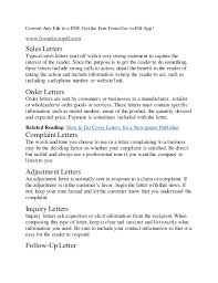 How To Start A Business Letter What Is A Business Letter