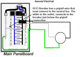gfci wiring diagram breaker wiring diagram and schematic design ground fault circuit interrupter gfci ge solutions