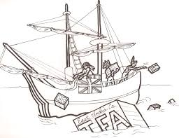 Small Picture Boston Tea Party Drawings Sketch Coloring Page Coloring Home