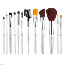 elf eyebrow brushes. e.l.f. cosmetics essential professional complete brush set 12 brushes | ebay elf eyebrow