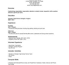 College Student Resume For Summer Job Job Resume Sample Forlege Students Summer Student With No Experience 22