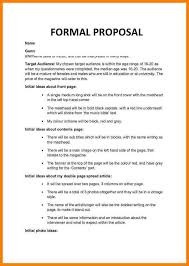 Formal Proposal Example 24 Formal Proposal Report Example Primary Write 20