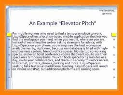 Elevator Pitch Examples For Students Elevator Speech Example Pitch Examples For Students Updated The And