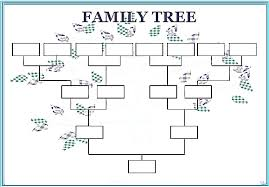Family Tree Format Word - April.onthemarch.co