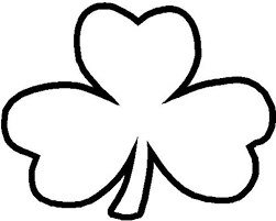 Small Picture A Common Three Leaf Clover Coloring Page Color Luna