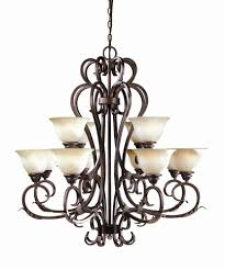 olympus tradition 12 light chandelier in led bronze w silver wi262124
