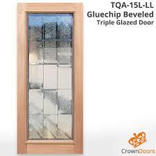 tqa 15l gl ll triple glazed solid timber door