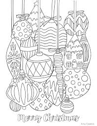Small Picture Free Christmas Ornament Coloring Page TGIF This Grandma is Fun