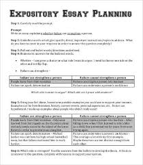 expository essay word pdf documents expository essay planning template