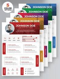 27 Professional Free Resume Templates Decolorenet