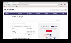 the usps tracker