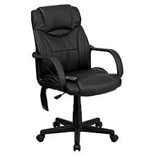 leather office chair. Contemporary Leather Flash Furniture High Back Massaging Black Leather Executive Office Chair Throughout I