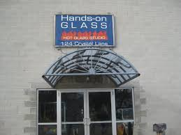 hands on glass studio corning