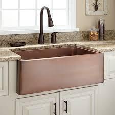 Kitchens With Farmhouse Sinks 30 Kembla Copper Farmhouse Sink Kitchen
