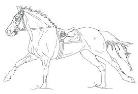 Coloring Pages Of Horses Barrel Racing Horse Coloring Pages
