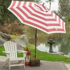 c coast 7 5 ft olefin fashion wind resistant patio umbrella with crank and collar tilt com
