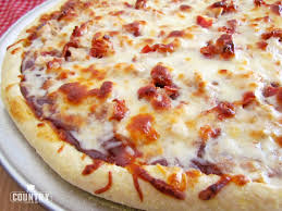 How To Cook A Pizza Bbq Chicken Pizza The Country Cook