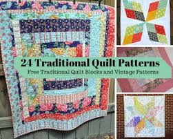 900+ Free Quilting Patterns | FaveQuilts.com & 24 Traditional Quilt Patterns: Free Traditional Quilt Blocks and Vintage  Patterns Adamdwight.com
