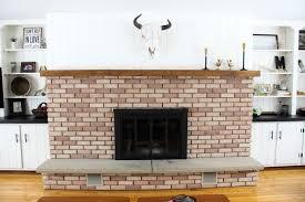 spray painted fireplace insert