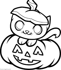 It is a smooth, round and sports a slightly ribbed skin. Pumpkin Coloring Pages Coloringall