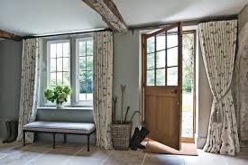 front door curtains. Entrance Front Door Curtains S