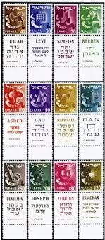 12 Tribes Of Israel Month Chart What Are The Symbols Of The Twelve Tribes Of Israel Quora