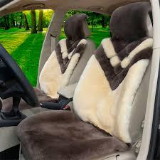 name hot s whole fur wool auto cushion universal genuine sheepskin car seat covers 6pcs sets grey