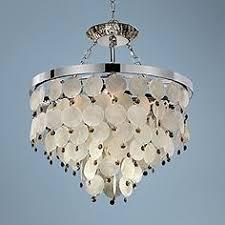 glow lighting chandeliers. Island Paradise Capiz And Topaz 19 Glow Lighting Chandeliers L