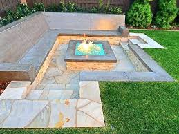 square fire pits designs glass outdoor pit patio table amazing building an inground build a in in ground fire pit