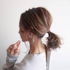 40代の簡単ヘアアレンジ17選セミロングショートや大人まとめ髪のコツ