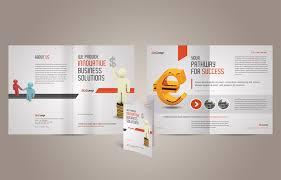 A4 Half-fold Brochure Template ‹ PsdBucket.com