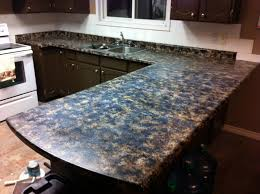 diy faux granite countertops acrylic paint and a sea sponge cover with polyacrylic clear