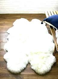 costco grey rug sheepskin rug fur genuine four pelt natural windward grey cleaning sheepskin rug extraordinary