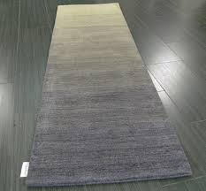 calvin klein haze hac01 shade hall runner rug 100 wool ombre within gray inspirations 7