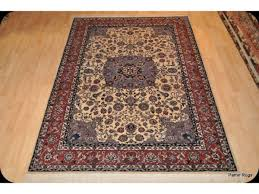 6 x 9 handmade hand knotted persian wool rug