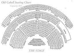 Old Cabell Seating Chart Mcintire Department Of Music