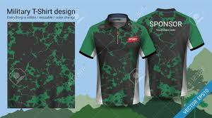 Hiking T Shirt Design Military Polo T Shirt Design With Camouflage Print Clothes For