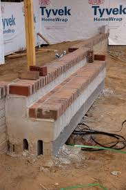 patio steps pea size x: how to build a brick step