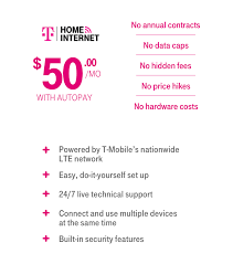 Tmobile Custumer Service Home Internet Service From T Mobile