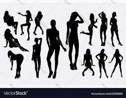 woman female y pose silhouette