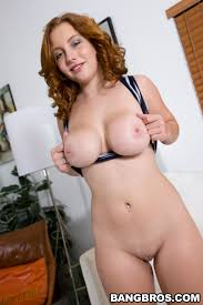 Nude redhead busty video