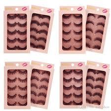 <b>SHIDISHANGPIN</b> 3D <b>Mink</b> Eyelashes <b>4 Pairs</b> Set Natural <b>Mink</b> ...