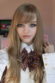 beautiful doll face it s amazing what makeup can do makes
