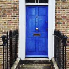 blue front doorColoring the Front Door Meanings and Inspiration